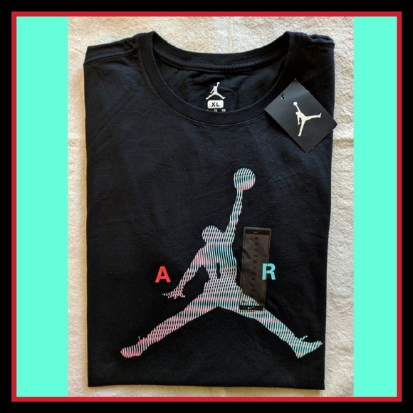 997715efb16 Jordan Shirts | Nwt Air Jumpman Graphic Tshirt Black Xl | Poshmark